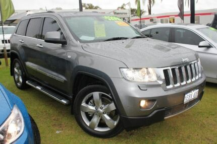 2013 Jeep Grand Cherokee WK MY2013 Overland Grey 6 Speed Auto Seq Sportshift Wagon Pearsall Wanneroo Area Preview