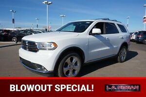 2015 Dodge Durango 4X4 LIMITED Rear DVD,  Leather,  Heated Seats