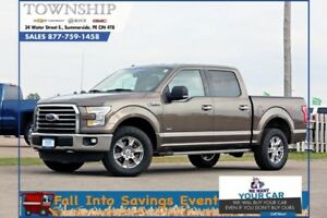 2015 Ford F-150 XLT - 4WD - Super Crew - Loaded!