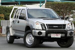 2011 Isuzu D-MAX MY11 SX Silver 4 Speed Automatic Utility Acacia Ridge Brisbane South West Preview