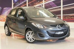 2010 Mazda 2 DE10Y1 Neo Grey 5 Speed Manual Hatchback Blacktown Blacktown Area Preview