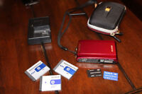 Sony DSC-T300 Red Camera with Accessories