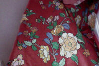 COTTON CHINTZ FABRIC; NEW
