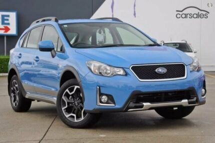 2016 Subaru XV G4X MY17 2.0i Lineartronic AWD Special Edition Blue 6 Speed Constant Variable Wagon