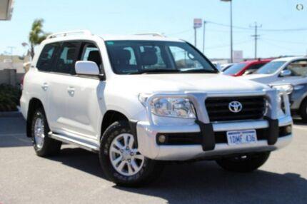 2010 Toyota Landcruiser White Sports Automatic Wagon