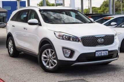 2017 Kia Sorento UM MY17 SI White 6 Speed Sports Automatic Wagon Glendalough Stirling Area Preview