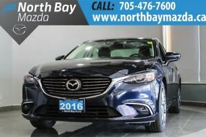 2016 Mazda Mazda6 GT with Blutooth, Leather, Sunroof, Heated Sea