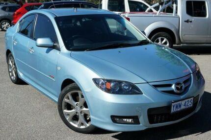 2007 Mazda 3 BK1032 SP23 Blue 6 Speed Manual Sedan