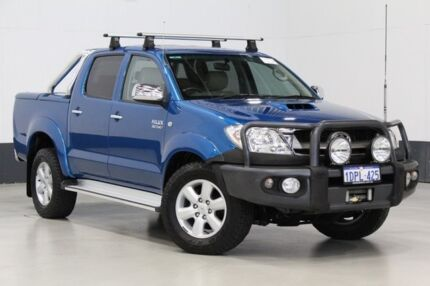 2011 Toyota Hilux KUN26R MY11 Upgrade SR5 (4x4) Blue 4 Speed Automatic