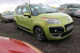 CITROEN C3 PICASSO 1.6 PICASSO EXCLUSIVE HDI 5d 90 BHP * 360 SPIN ON (green) 2009