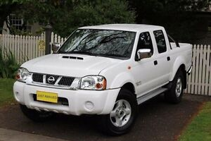 2011 Nissan Navara D22 S5 ST-R White 5 Speed Manual Utility Hawthorn Mitcham Area Preview