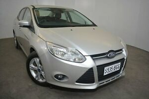 2014 Ford Focus LW MKII Trend PwrShift Silver 6 Speed Sports Automatic Dual Clutch Sedan Mount Gambier Grant Area Preview