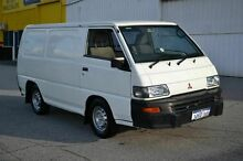 2010 Mitsubishi Express LOW KILOMETRES White 5 Speed Manual Van East Rockingham Rockingham Area Preview
