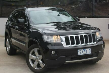 2012 Jeep Grand Cherokee WK MY2012 Limited Green 5 Speed Sports Automatic Wagon
