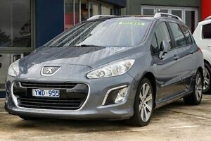 2011 Peugeot 308 T7 MY12 Active Touring HDI Grey 6 Speed Sports Automatic Wagon Lake Wendouree Ballarat City Preview