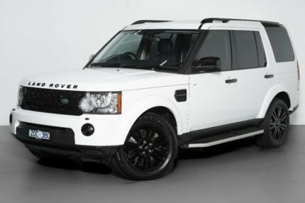 2013 Land Rover Discovery 4 Series 4 L319 MY13 SDV6 SE White 8 Speed Sports Automatic Wagon Port Melbourne Port Phillip Preview