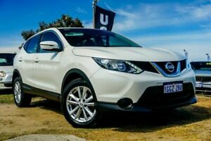 2017 Nissan Qashqai J11 Series 2 ST X-tronic White 1 Speed Constant Variable Wagon