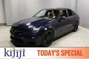 2013 Mercedes-Benz C-Class C63 AMG Navigation (GPS),  Leather,