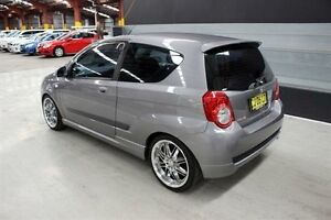 2009 Holden Barina TK MY09 Grey 5 Speed Manual Hatchback Maryville Newcastle Area Preview