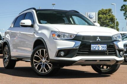 2016 Mitsubishi ASX XC MY17 XLS 2WD White 6 Speed Constant Variable Wagon