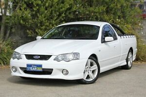2003 Ford Falcon BA XR8 Ute Super Cab White 4 Speed Sports Automatic Utility