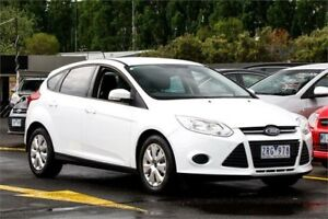2013 Ford Focus LW MKII Trend White 5 Speed Manual Hatchback Ringwood East Maroondah Area Preview