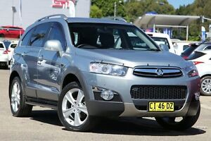2012 Holden Captiva CG MY12 7 LX (4x4) Silver 6 Speed Automatic Wagon Zetland Inner Sydney Preview