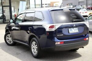 2013 Mitsubishi Outlander ZJ MY13 LS 2WD Sapphire 6 Speed Constant Variable Wagon