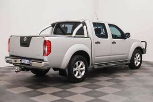 2011 Nissan Navara D40 MY11 ST-X Silver 6 Speed Manual Utility Edgewater Joondalup Area Preview