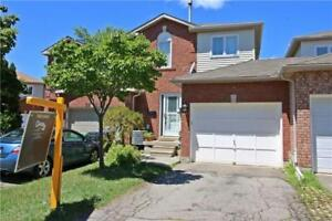 Freehold 3BR Town Home In Sought After Lisgar  Mississauga