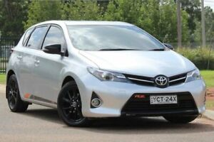 2014 Toyota Corolla ZRE182R RZ S-CVT Silver 7 Speed Constant Variable Hatchback Lansvale Liverpool Area Preview