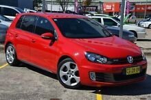 2012 Volkswagen Golf 1K MY12 GTi Red 6 Speed Direct Shift Hatchback Campbelltown Campbelltown Area Preview