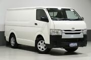 2016 Toyota Hiace TRH201R MY16 LWB White 6 Speed Automatic Van Bentley Canning Area Preview