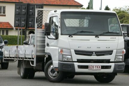 2013 Fuso Canter 515 White Cab Chassis Nundah Brisbane North East Preview