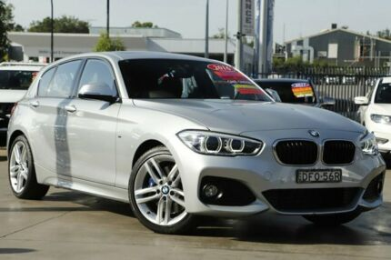 2016 BMW 125i F20 LCI M Sport Silver 8 Speed Sports Automatic Hatchback Penrith Penrith Area Preview