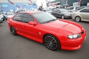 2001 Holden Commodore VX II SS Red 4 Speed Automatic Sedan Kingsville Maribyrnong Area Preview