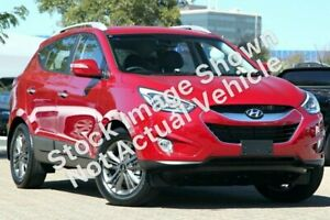 2014 Hyundai ix35 LM3 MY14 Elite AWD Red 6 Speed Sports Automatic Wagon Victoria Park Victoria Park Area Preview