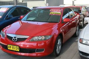 2006 Mazda 6 GG 05 Upgrade Classic Red 6 Speed Manual Sedan Mitchell Gungahlin Area Preview