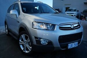 2012 Holden Captiva CG Series II 7 AWD LX Silver 6 Speed Sports Automatic Wagon Pearce Woden Valley Preview