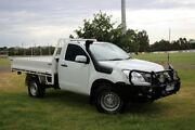 2014 Isuzu D-MAX MY14 SX White 5 Speed Manual Cab Chassis Officer Cardinia Area Preview