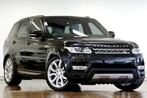 2013 Land Rover Range Rover Sport L494 MY14 SDV6 CommandShift HSE Black 8 Speed Sports Automatic Adelaide CBD Adelaide City Preview