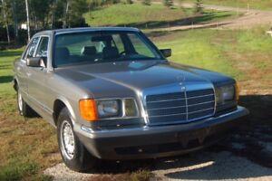 1984 Mercedes Benz 380SE