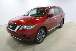 2018 Nissan Pathfinder 4X4 PLATINUM V6 Bluetooth, DVD, Heated Se