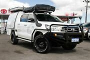 2016 Toyota Hilux GUN126R SR Double Cab Glacier White 6 Speed Sports Automatic Utility Osborne Park Stirling Area Preview