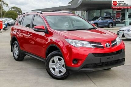2013 Toyota RAV4 Red Constant Variable Wagon