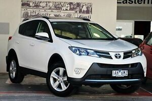 2013 Toyota RAV4 ASA44R Cruiser AWD White 6 Speed Sports Automatic Wagon Doncaster Manningham Area Preview