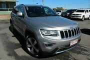 2013 Jeep Grand Cherokee WK MY2014 Limited Silver 8 Speed Sports Automatic Wagon Wakerley Brisbane South East Preview
