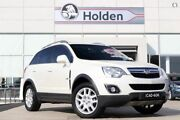 2012 Holden Captiva CG Series II MY12 5 Pearl White 6 Speed Sports Automatic Wagon Liverpool Liverpool Area Preview