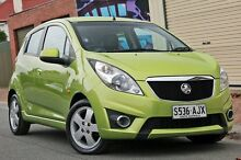 2010 Holden Barina Spark MJ MY11 CDX Green 5 Speed Manual Hatchback Glenelg Holdfast Bay Preview