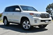 2015 Toyota Landcruiser VDJ200R MY13 Sahara Crystal Pearl 6 Speed Sports Automatic Wagon Claremont Nedlands Area Preview